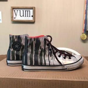 Converse Shoes Silver